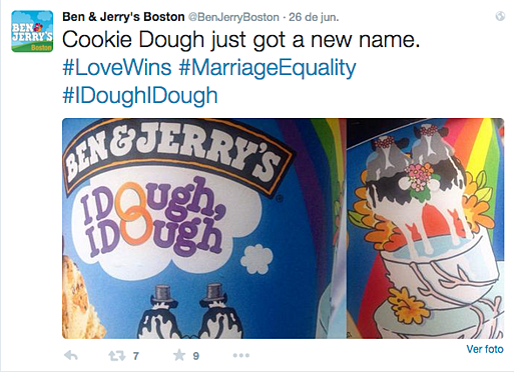 Ben & Jerry's Love Wins