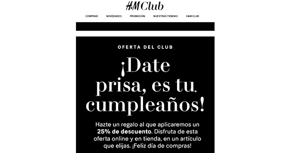 EmailMarketing_HM_Club_Oferta_personalizada