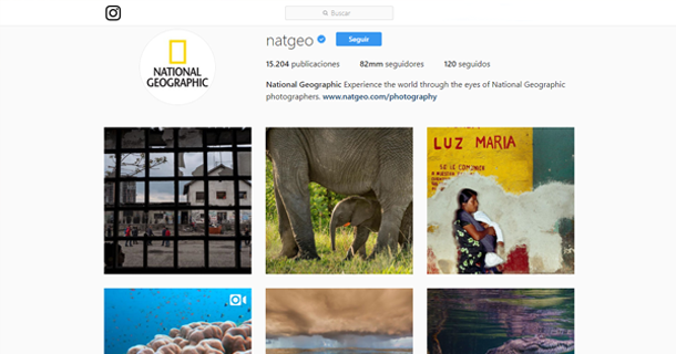 Instagram National Geographic