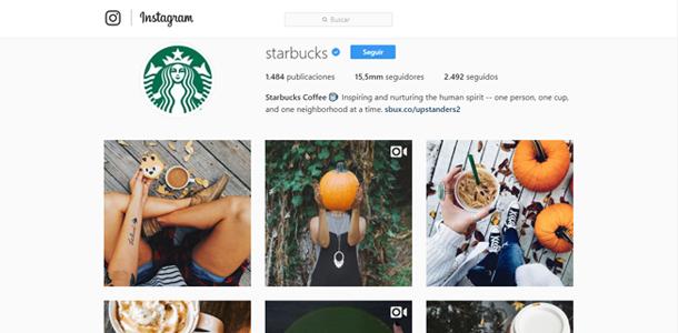 Instagram Starbucks