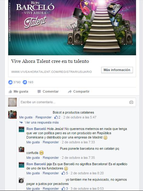 Barcelo promociones online